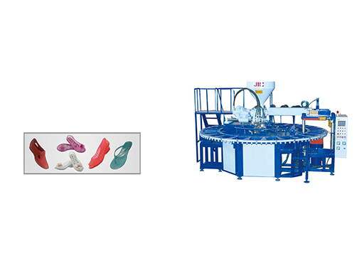JIC724AJ One Color PVC Air Blowing Machine